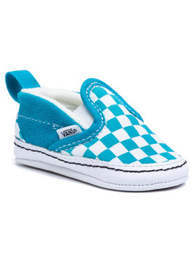 Vans Vans Πάνινα παπούτσια Slip-On V Crib VN0A2XSLW3V1 Μπλε