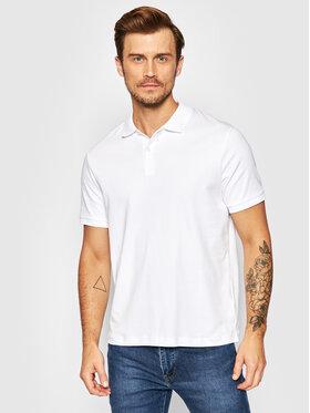 Selected Homme Selected Homme Тениска с яка и копчета Paris 16072841 Бял Regular Fit
