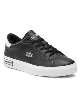Lacoste Lacoste Sneakersy Powercourt 0721 1 Suj 7-41SUJ0014312 Czarny