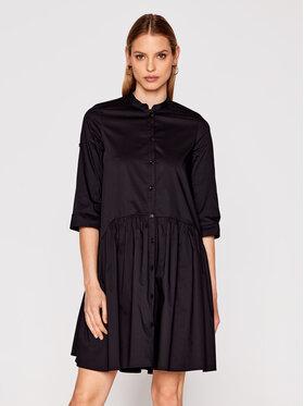 Imperial Imperial Sukienka koszulowa AA7PBBE Czarny Regular Fit