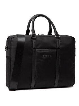 Strellson Strellson Taška na laptop Briefbag 4010002942 Čierna