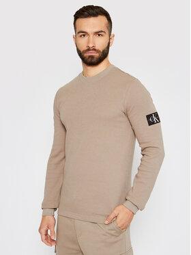 Calvin Klein Jeans Calvin Klein Jeans Megztinis J30J316610 Smėlio Regular Fit