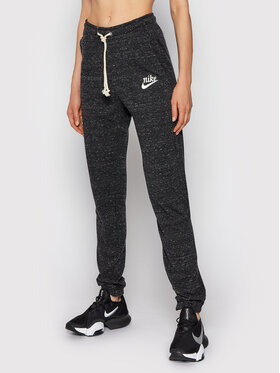 Nike Nike Teplákové kalhoty Sportswear Gym Vintage CJ1793 Černá Regular Fit