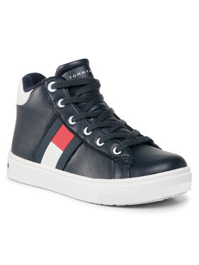 Tommy Hilfiger Tommy Hilfiger Sneakersy High Top Lace Up Sneaker T3B4 30925 1031 M Granatowy