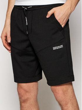 Calvin Klein Jeans Calvin Klein Jeans Спортни шорти J30J317385 Черен Regular Fit
