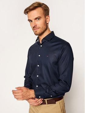 Tommy Hilfiger Tailored Tommy Hilfiger Tailored Košile Twill TT0TT08326 Tmavomodrá Slim Fit