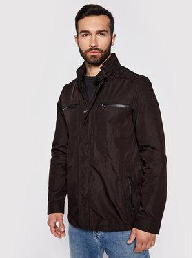 Geox Geox Átmeneti kabát Renny M0221X T2451 F9000 Fekete Regular Fit