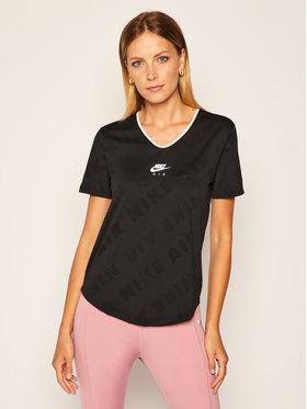 Nike Nike Technisches T-Shirt Air CJ2064 Schwarz Standard Fit