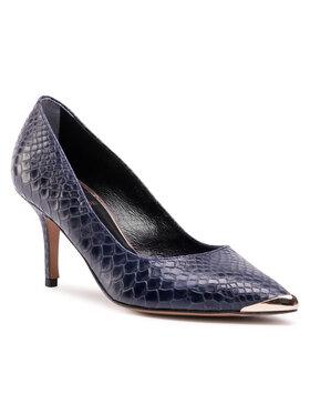 Baldowski Baldowski Pantofi cu toc subțire D03516-3359-005 Bleumarin