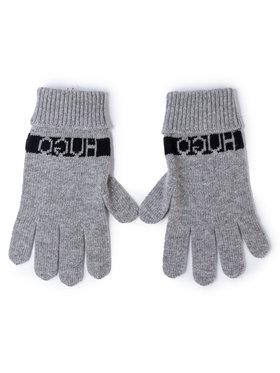 Hugo Hugo Мъжки ръкавици Wolo 50415365 Сив