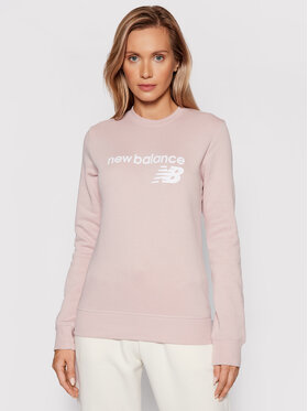 New Balance New Balance Суитшърт Classic Core Fleece WT03811 Розов Relaxed Fit