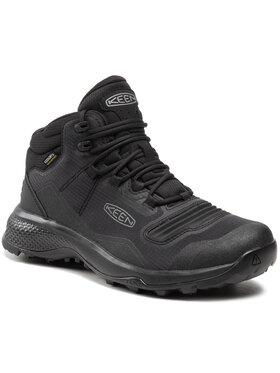 Keen Keen Παπούτσια πεζοπορίας Tempo Flex Mid Wp 1025293 Μαύρο