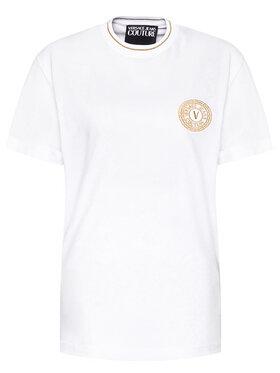 Versace Jeans Couture Versace Jeans Couture T-shirt B3GWA7TF Blanc Regular Fit