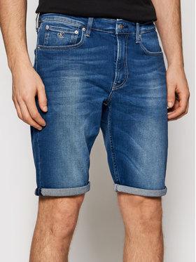 Calvin Klein Jeans Calvin Klein Jeans Дънкови шорти J30J317742 Син Regular Fit