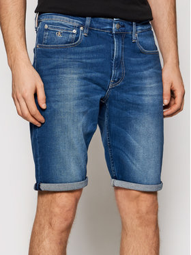 Calvin Klein Jeans Calvin Klein Jeans Szorty jeansowe J30J317742 Niebieski Regular Fit