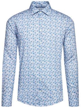 Eton Eton Marškiniai 100001465 Mėlyna Regular Fit