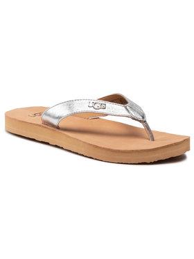 Ugg Ugg Flip-flops W Tawney Logo 1119998 Ezüst