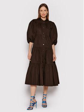Tory Burch Tory Burch Sukienka koszulowa Artist Button Front 83663 Brązowy Loose Fit