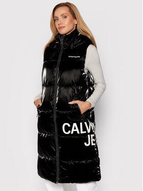 Calvin Klein Jeans Calvin Klein Jeans Kamizelka J20J217282 Czarny Regular Fit