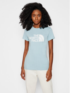 The North Face The North Face T-shirt Easy NF0A4T1QBDT1 Blu Regular Fit