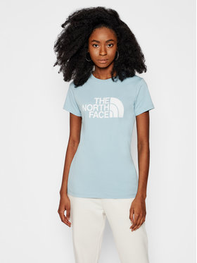 The North Face The North Face T-Shirt Easy NF0A4T1QBDT1 Modrá Regular Fit