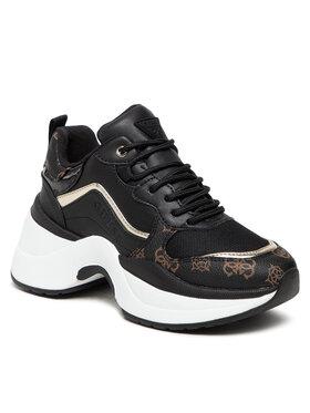 Guess Guess Sneakersy FL8JOL ELE12 Čierna