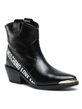 LOVE MOSCHINO LOVE MOSCHINO Členková obuv JA21015G1CIG0000 Čierna