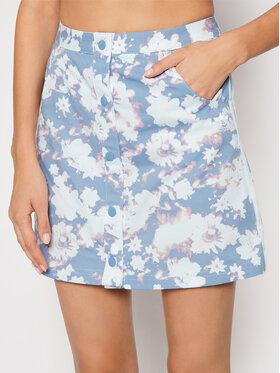 adidas adidas Mini sukně H20445 Modrá Slim Fit