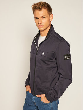 Calvin Klein Jeans Calvin Klein Jeans Átmeneti kabát Harrington J30J315672 Sötétkék Regular Fit