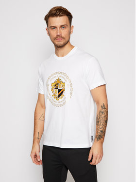 Versace Jeans Couture Versace Jeans Couture T-shirt B3GZB7EB Bijela Regular Fit