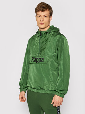 Kappa Kappa Kurtka anorak Issac 309041 Zielony Regular Fit