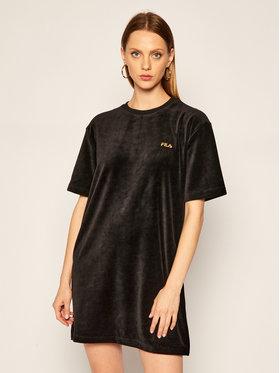 Fila Fila Úpletové šaty Satinka Velvet 688395 Čierna Regular Fit