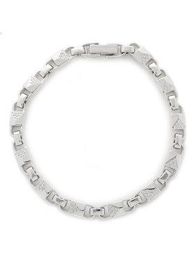 Michael Kors Michael Kors Гривна Med Link Bracelet MKC1004AN040 Сребрист