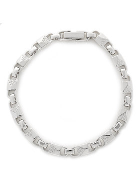 Michael Kors Michael Kors Náramok Med Link Bracelet MKC1004AN040 Strieborná
