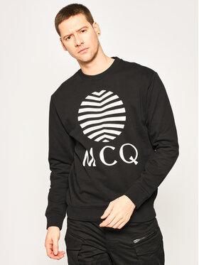 MCQ Alexander McQueen MCQ Alexander McQueen Sweatshirt 545415 ROT08 1000 Schwarz Regular Fit