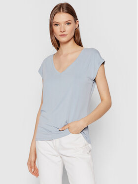 Vero Moda Vero Moda T-Shirt Filli 10246928 Niebieski Regular Fit