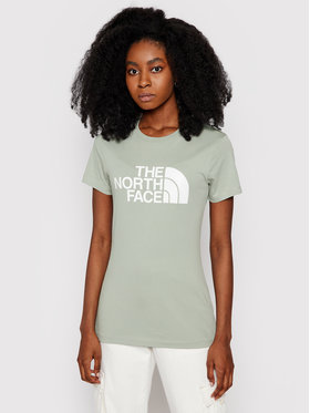 The North Face The North Face T-Shirt Easy NF0A4T1QH Zelená Regular Fit