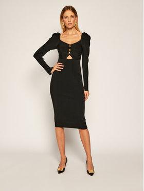 Versace Jeans Couture Versace Jeans Couture Robe en tricot B4HZA803 Noir Slim Fit