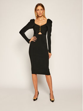 Versace Jeans Couture Versace Jeans Couture Trikotažinė suknelė B4HZA803 Juoda Slim Fit