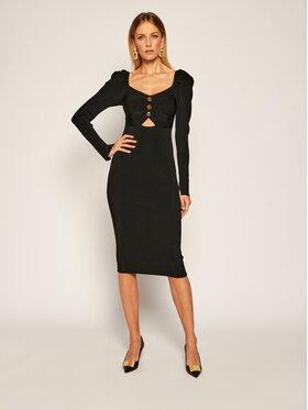 Versace Jeans Couture Versace Jeans Couture Úpletové šaty B4HZA803 Černá Slim Fit