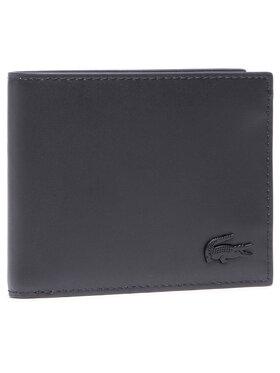 Lacoste Lacoste Голям мъжки портфейл S Billfold NH3456DD Черен