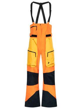 Peak Performance Peak Performance Spodnie narciarskie VerPro G68287001 Pomarańczowy Regular Fit
