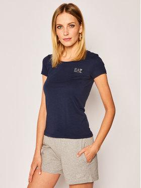 EA7 Emporio Armani EA7 Emporio Armani T-shirt 8NTT64 TJ28Z 1554 Bleu marine Regular Fit