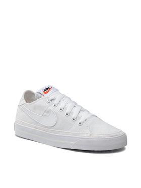 Nike Nike Обувки Court Legacy Cnvs CZ0294 100 Бял
