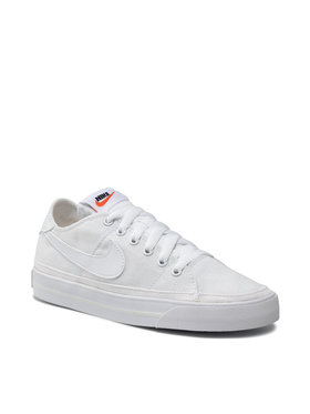 Nike Nike Topánky Court Legacy Cnvs CZ0294 100 Biela